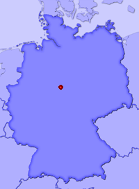 Show Hevensen in larger map