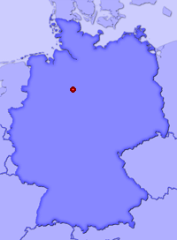 Show Harenberg in larger map
