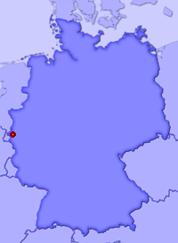 Show Kinzweiler in larger map