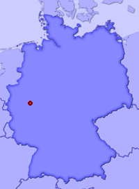 Show Heseln in larger map