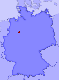 Show Exter, Kreis Herford in larger map