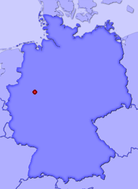 Show Arnsberg in larger map