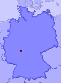 Show Bingenheim in larger map