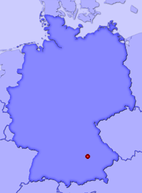 Show Geisenfeld in larger map