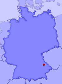 Show Utzenzell in larger map