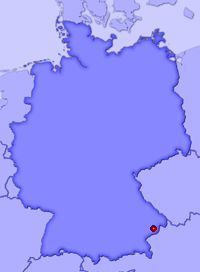 Show Bad Birnbach, Rottal in larger map