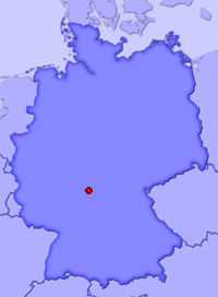Show Rengersbrunn in larger map