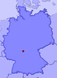 Show Wombach in larger map