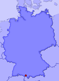 Show Staudach in larger map
