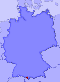 Show Steinebach in larger map
