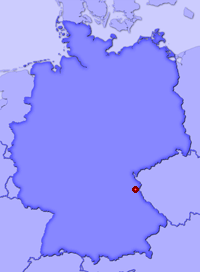 Show Bechtsrieth in larger map