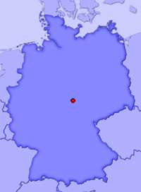 Show Merxleben in larger map