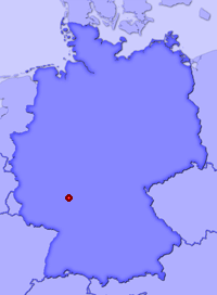 Show Darmstadt in larger map