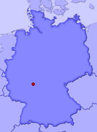 Show Hanau in larger map