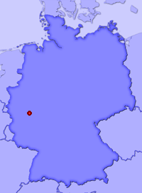 Show Harschbach in larger map