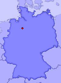 Show Marklohe in larger map