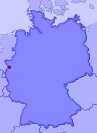Show Willich in larger map