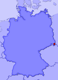 Show Zittau in larger map