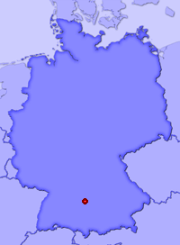 Show Hürben in larger map