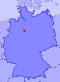 Show Almhorst in larger map